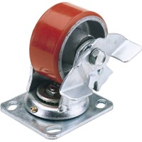 Draper Swivel Plate Fixing Heavy Duty Wheeled Casor & Brake