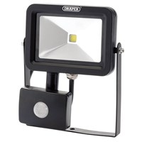 Draper COB LED Slimeline Wall Mounted Floodlight With PIR