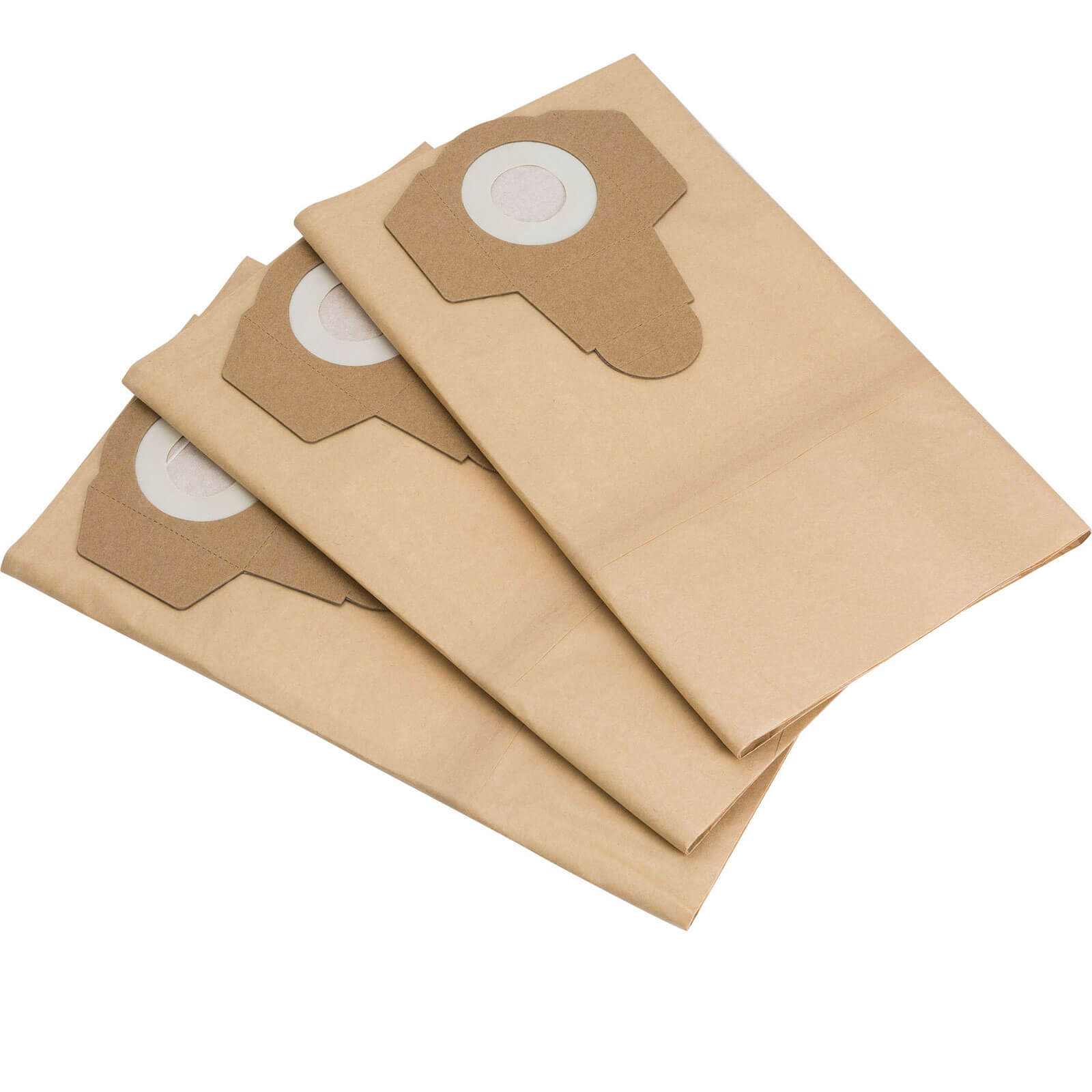 Draper Paper Dust Bags for WDV30SSPA Vacuum Cleaner Pack of 3