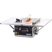 Draper BTS252 Table Saw 254mm Blade Inc Extra Saw Blade