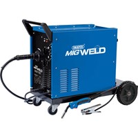 Draper MW190T Gas/Gasless Turbo Mig Welder