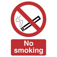 Draper No Smoking Sign
