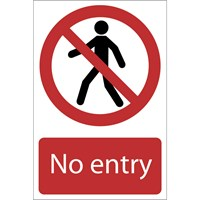 Draper No Entry Sign