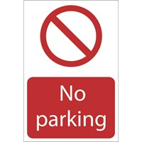 Draper No Parking Sign
