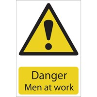 Draper Danger Men At Work Sign