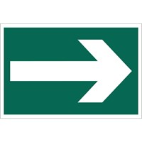 Draper Arrow Right Sign
