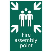 Draper Fire Assembly Point Sign