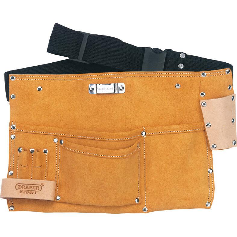 Draper Expert Leather Tool & Nail Apron