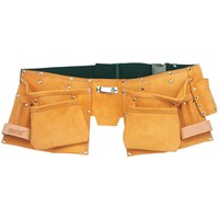 Draper Expert Leather Double Tool Pouch & Belt