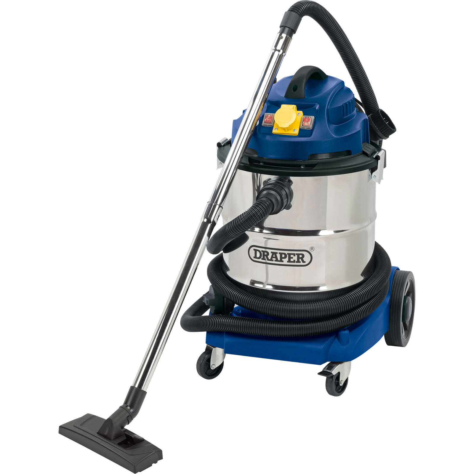 Draper WDV50SS Wet and Dry Vacuum Cleaner 110v