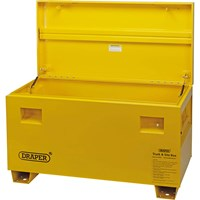 Draper Contractors Site Storage Box Yellow