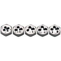 Draper 5 Piece Hexagon Die Nut Set Metric