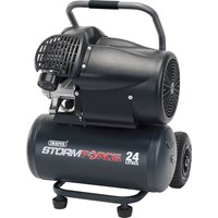 Draper DA25 Storm Force Air Compressor 24 Litre
