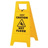 Draper Caution Wet Floor Warning Sign