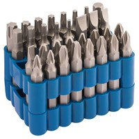 Draper 32 Piece 50mm Screwdriver Bit Set