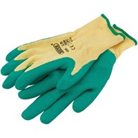 Draper Heavy Duty Latex Coated Work Gloves
