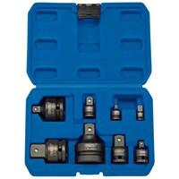 Draper 8 Piece Combination Drive Impact Socket Adaptor Set