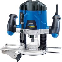 "Draper Storm Force Variable Speed 1/4"" Router Kit"
