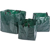 Draper 3 Piece Garden Waste Bag Set