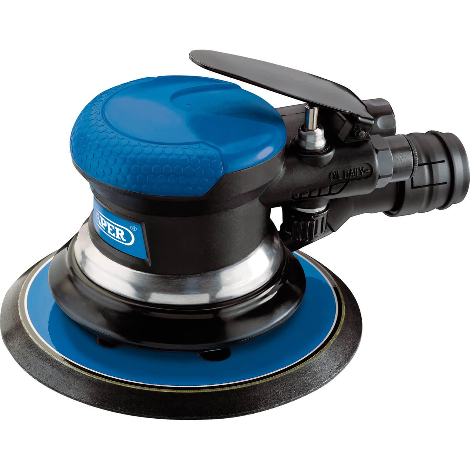 Image of Draper DAT-APS Dual Action Air Sander 150mm Disc