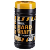 Draper Hard Graft Cleaning Wipes