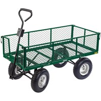 Draper Heavy Duty Steel Mesh Garden Trolley