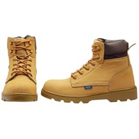 Draper Mens Nubuck Style Safety Boots