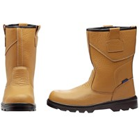 Draper Mens Rigger Style Safety Boots