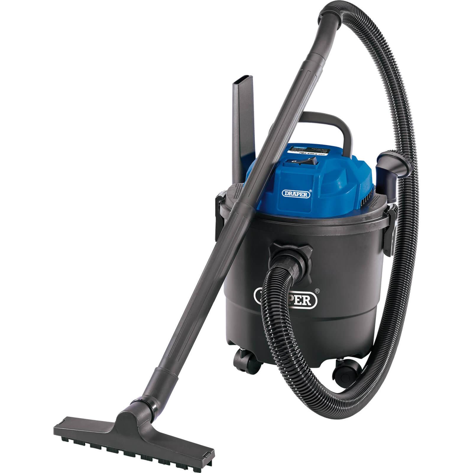 Draper WDV15P Wet and Dry Vacuum Cleaner 240v