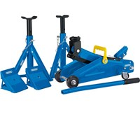 Draper Trolley Jack and Axle Stands Combination Kit