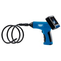 Draper Rechargeable Pistol Grip Boroscope Inspection Camera