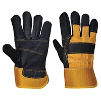 Portwest Heavy Duty Furniture Hide Rigger Gloves
