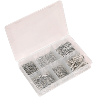 Sealey 150 Piece R Clip Assortment