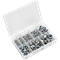 Sealey 255 Piece Nylon Lock Nut Assortment Metric