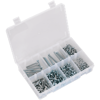 Sealey High Tensile Set Screw, Nut & Washer Assortment