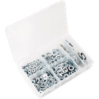 Sealey 495 Piece Flat Washer Assortment Metric