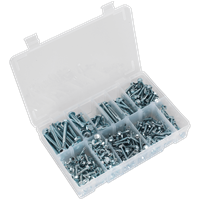 Sealey 410 Piece Hex Head Self Drilling Screw Assortment