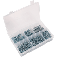 Sealey 510 Piece Countersunk Self Tapping Screw Assortment