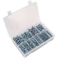 Sealey 700 Piece Pan Head Self Tapping Screw Assortment