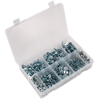 Sealey 300 Piece Acme Screw and Captive Washer Assortment