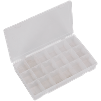 Sealey Large Flipbox Case and 12 Removable Dividers
