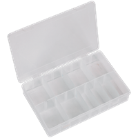 Sealey Medium Flipbox Case and 8 Removable Dividers