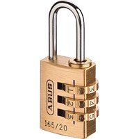 Abus 165 Series Combination Padlock