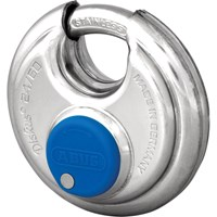 Abus 24 Series Diskus All Stainless Steel Padlock