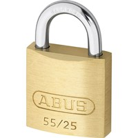 Abus 55 Series Basic Brass Padlock Keyed Alike
