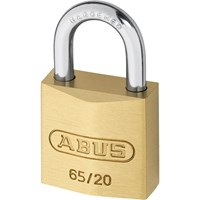 Abus 65 Series Compact Brass Padlock Keyed Alike