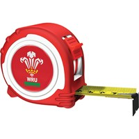Advent Official Welsh Rugby Tape Measure
