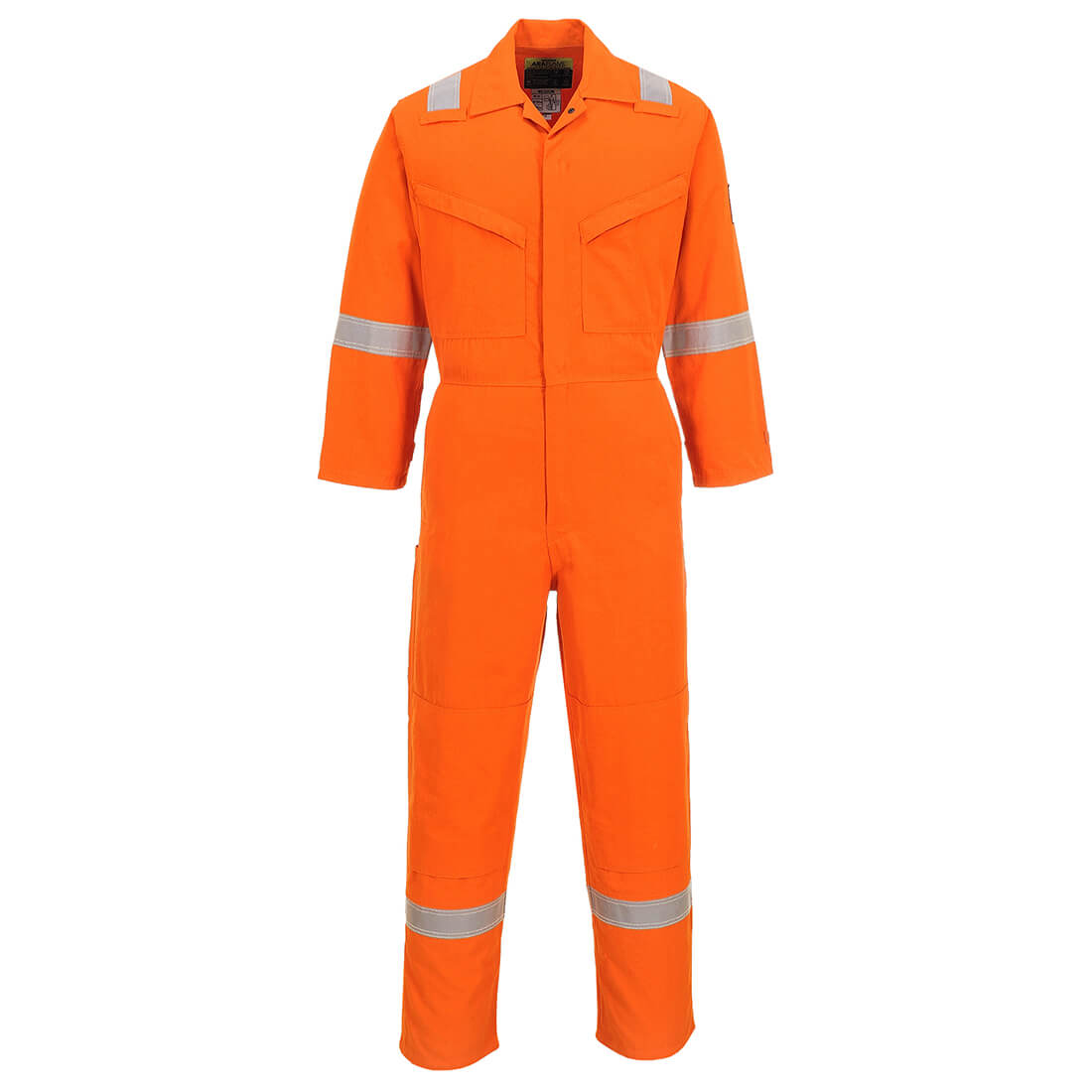 Image of Araflame Flame Resistant Overall Orange Orange 2XL 32""