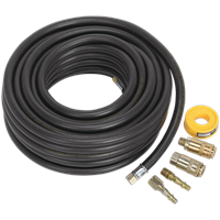 Sealey AKH01 Air Hose Kit with Connectors
