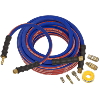Sealey AHK02 Heavy Duty Air Line Hose Kit